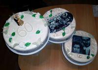 Torte-Diamanthochzeit